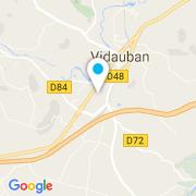 Plan Carte Modern Pool à Vidauban