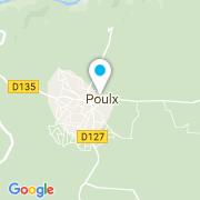 Plan Carte Albe Occitanie à Poulx