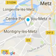 Plan Carte Piscines P.C (Wood-Line) à Montigny les Metz