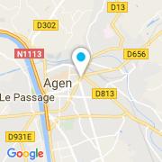 Plan Carte Zyke Piscines à Agen