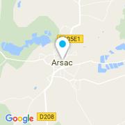 Plan Carte Zyke Piscines à Arsac