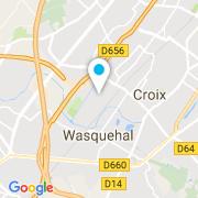 Plan Carte Oase à Wasquehal