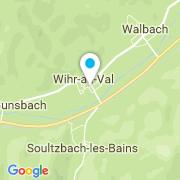 Plan Carte Hubener Paul à Wihr au Val