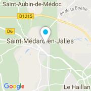 Plan Carte Lagauma à Saint-Médard-en-Jalles