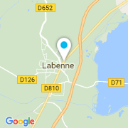 Plan Carte Enki Pool Consulting à Labenne