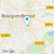 Plan Carte Mainaud Création à Bourg-en-Bresse