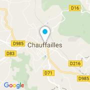 Plan Carte Charnay Paysage à Chauffailles