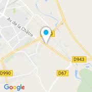 Plan Carte Aquapolis (Piscine Ibiza) à Le Poinçonnet