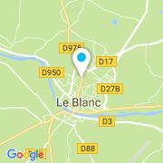 Plan Carte Bricol'eau à Le Blanc