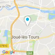 Plan Carte Mad Piscine à Joué-lés-Tours