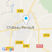 Plan Carte Docteur Swim (Piscines Dugain) à Château-Renault