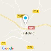 Plan Carte Piscine Attitude à Fayl-Billot
