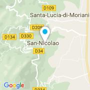 Plan Carte Bleu Piscine à San-Nicolao