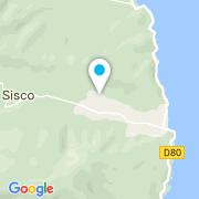 Plan Carte Brad Piscine à Sisco
