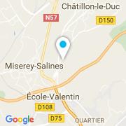 Plan Carte Cafraco à Besançon
