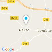 Plan Carte Herbet Michel à Alairac
