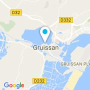 Plan Carte Artistic concept à Gruissan
