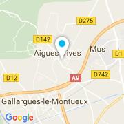 Plan Carte Nord Sud Construction à Aigues-Vives