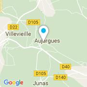 Plan Carte Piscines Clean à Aujargues
