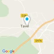 Plan Carte Garcia Entreprise à Tavel