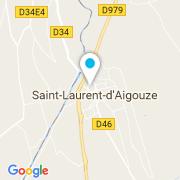 Plan Carte Eddie Pool à Saint-Laurent-d'Aigouze