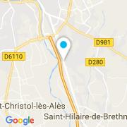 Plan Carte Feli à Saint-Hilaire-de-Brethmas