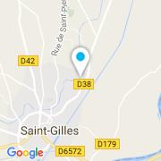 Plan Carte Mialon André à Saint-Gilles