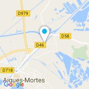 Plan Carte Aqualiss à Saint-Laurent-d'Aigouze