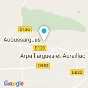 Plan Carte Naveilhan Denis à Arpaillargues Et Aureilla