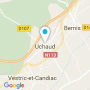 Plan Carte Sdc Concept à Uchaud