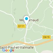 Plan Carte Electr'Eau à Montarnaud
