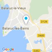 Plan Carte Piscin'Concept à Balaruc-les-Bains
