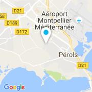 Plan Carte Recasens Stéphane à Pérols