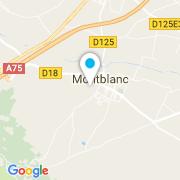 Plan Carte Aqua-bat à Montblanc