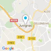 Plan Carte Sebastien Toulejbiez à Juvignac