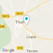 Plan Carte Construction Traditionnelle Du Midi à Thuir