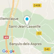 Plan Carte Manson Jeannine à Saint-Jean-Lasseille
