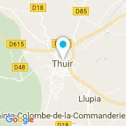 Plan Carte Piscine Liner Services à Thuir