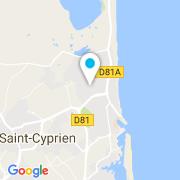 Plan Carte Deroiry Eric à Saint-Cyprien