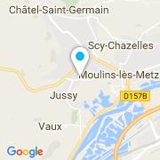 Plan Carte Pianaro Michel à Lorry Les Metz