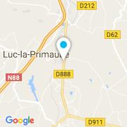 Plan Carte Espace Piscine à Luc