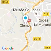Plan Carte Kocaman Ibrahim à Olemps