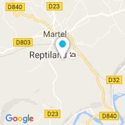 Plan Carte Loupchat Construction à Martel