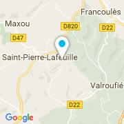 Plan Carte Clean Piscines à Saint-Pierre-Lafeuille