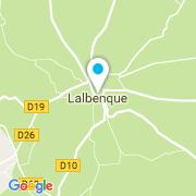 Plan Carte Miquel Périé à Lalbenque