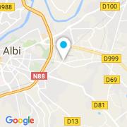 Plan Carte Saint Michel Construction à Albi