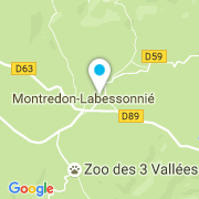 Plan Carte Piscinella à Montredon-Labessonnié