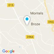 Plan Carte Soubrevie Christophe à Broze