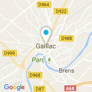 Plan Carte De Oliveira Francis à Gaillac