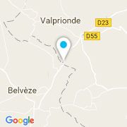 Plan Carte Toubelmont à Belvèze